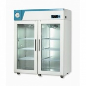 CLG-1400G Refrigerator (Glass, Double Door)