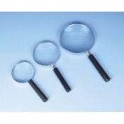 Magnifying Reading Glass With Metal Frame 20cm