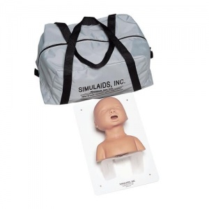 Infant Intubation Head with Carry Bag