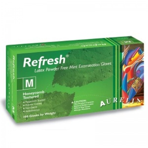 Aurelia Refresh Medical Grade Latex Gloves