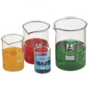Borosilicate Glass Squat Beakers
