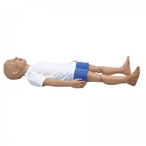 5 Year Old CPR and Trauma Care Simulator