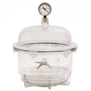 6 Litre Round Vacuum Desiccator (Without Gauge)