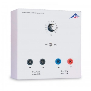 AC/DC Power Supply 0 - 12V 3A Stabilised