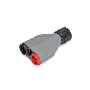 Adaptor for BNC Plug and 4mm Safety Jacks