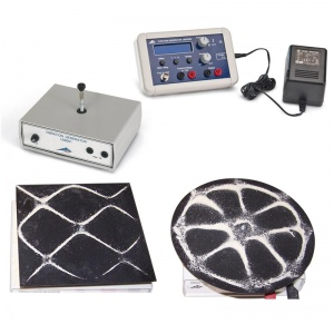 Complete Chladni Plate Experiment Kit with Function and Vibration Generators
