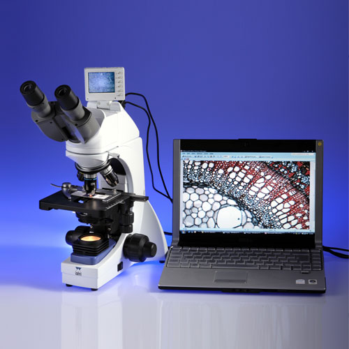 Digi Max II Microscope with Integral 2Mpx and LCD Touch Screen