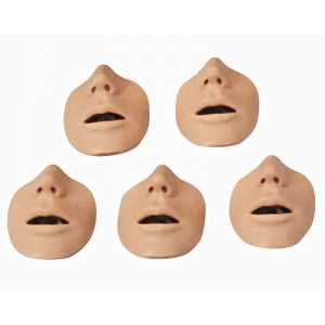 Pack of 10 Mouth/Nose Pieces for the CPR Torso