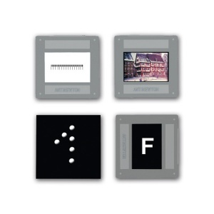 Set of 4 Image Objects