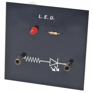 Simple Circuit Red LED Board Module