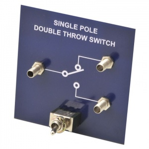 Simple Circuit Single Pole Double Throw Switch Module Unit