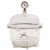 10 Litre Round Vacuum Desiccator (Without Gauge)