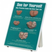 Why Prostate Exams Can Save Your Life Easel Display