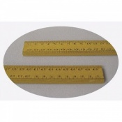 Metric Wooden 0.5m Ruler